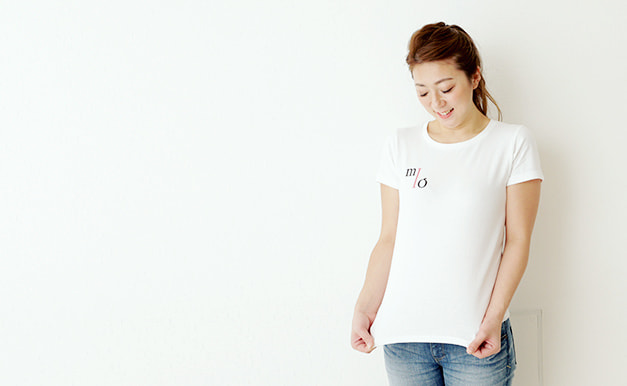 MIOとブランドTシャツ